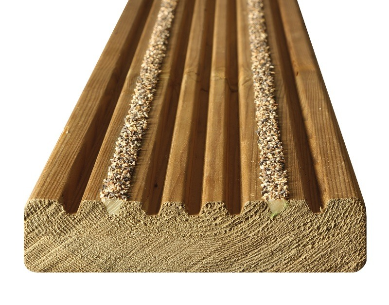 Close-up-Timber-Decking-Board