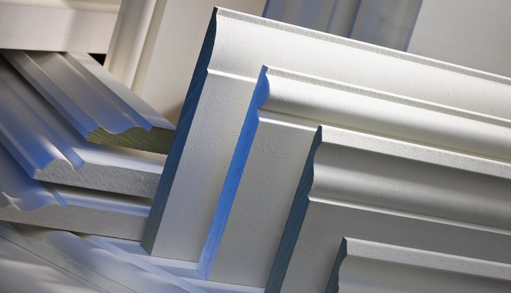 MDF mouldings, Skirting, architrave