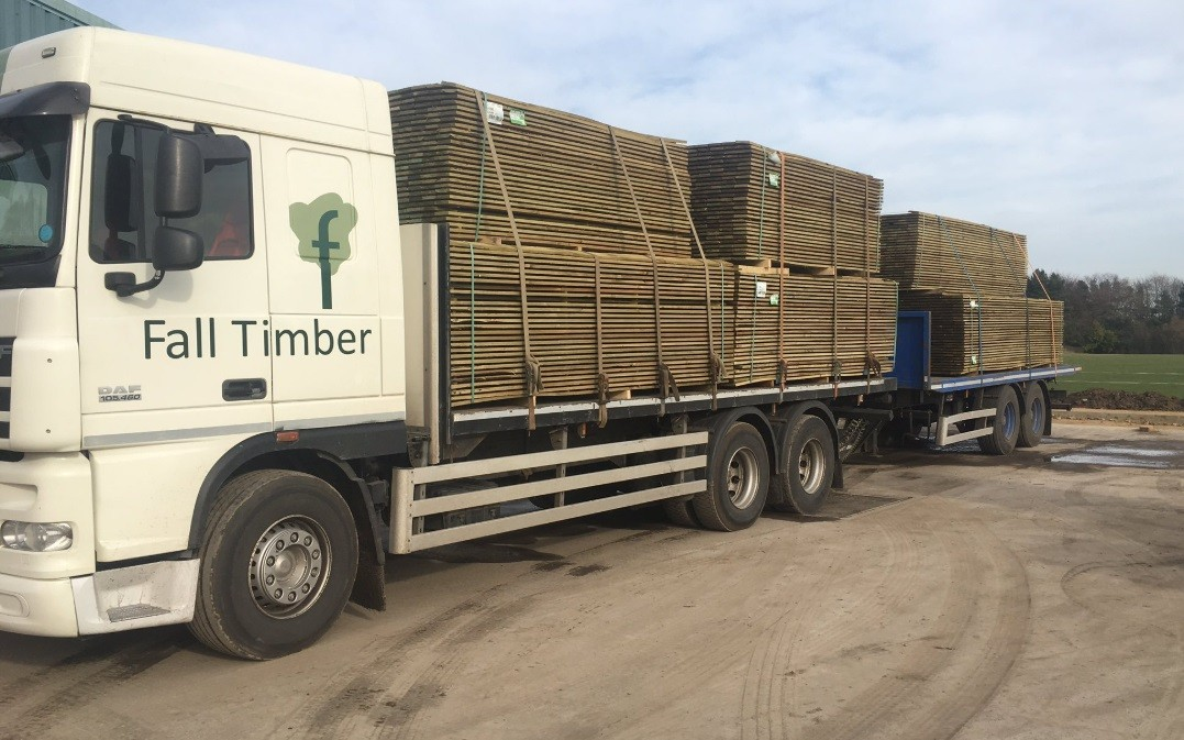 Fall-Timber-Delivery-Truck-and-Trailer